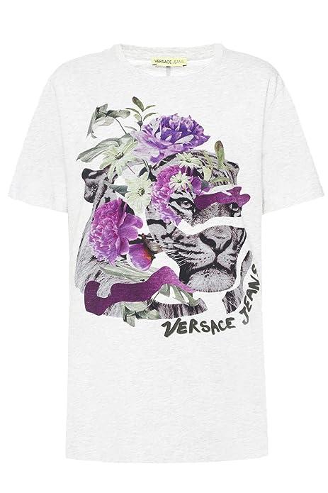 Versace Jeans Camisetas B2HRA7P1-36242-TS: Amazon.es: Zapatos y complementos