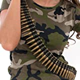 "Enfants Armée Bullet Belt Play - 60 ""Long [Jouet]"