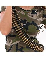 "Kids Army Play Bullet Belt - 60"" Long (accesorio de disfraz)"