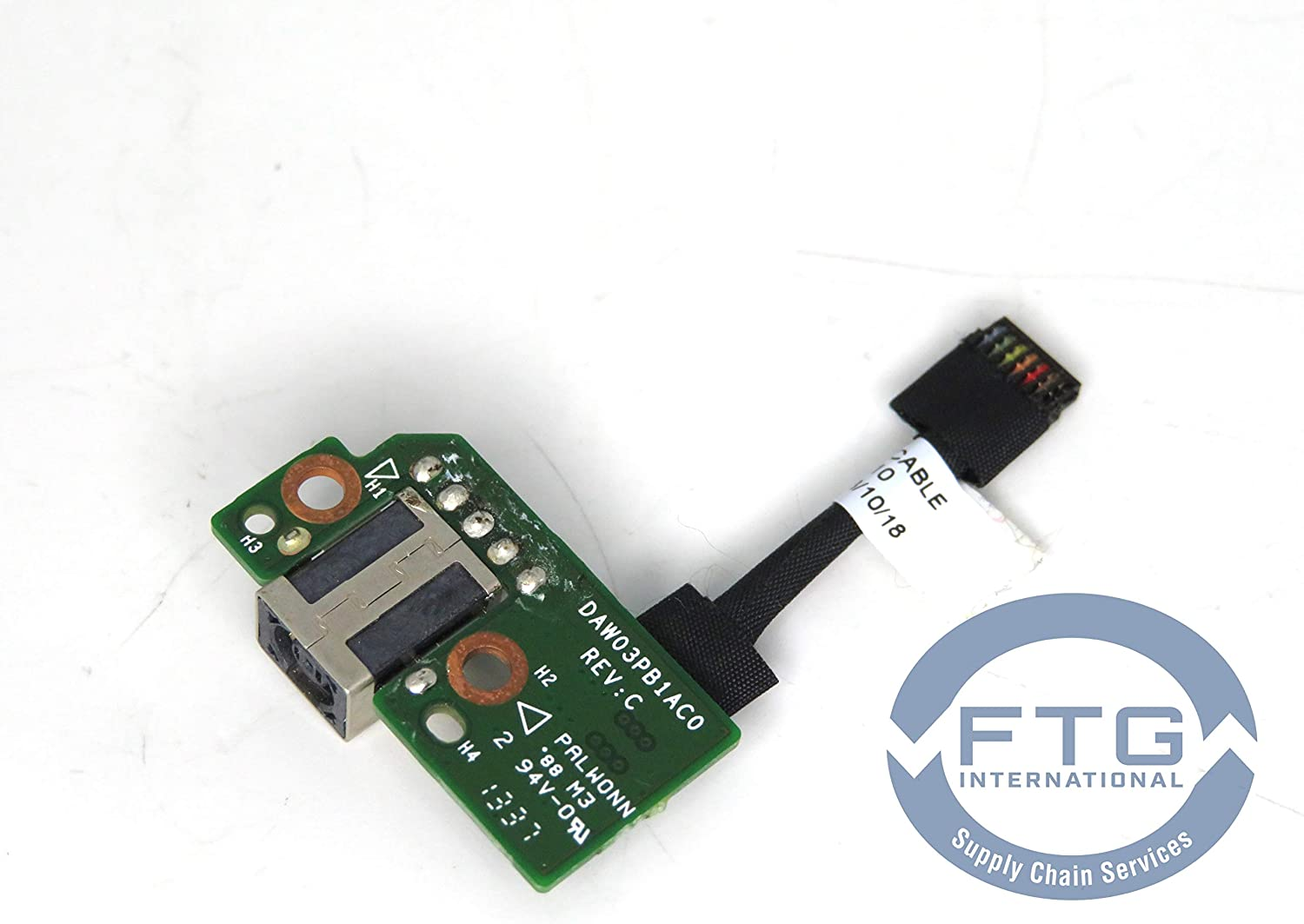 742735-001 DC-in Power Connector Board Includes Connector Cable