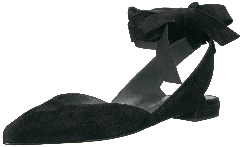 Stuart Weitzman Women's Supersonic Ballet Flat B01M71JL3X 10.5 B(M) US Black