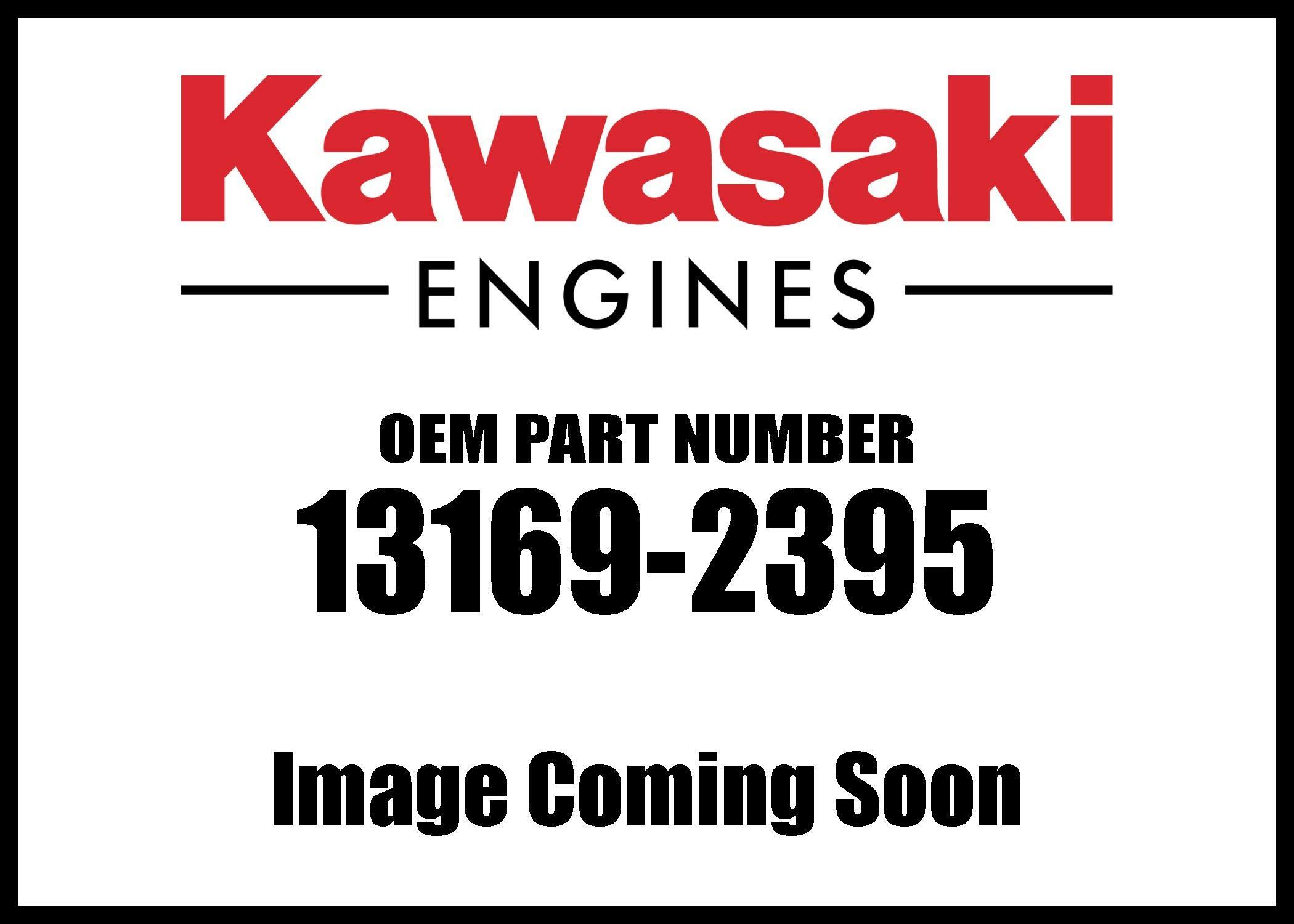 Kawasaki Engine Plate Air Filter 13169-2395 New OEM