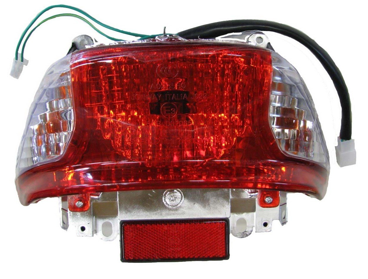 Chinese Scooter Tail Light GY6 50cc Tao Tao ATM50A1, Peace Sports, Brake Light by FixRightPro