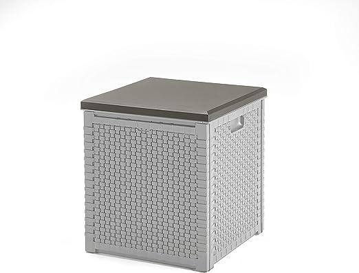 KitGarden - Cofre/Arcón Multiusos, Capacidad 98l, Gris, Multi Storage Box 98L: Amazon.es: Jardín