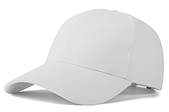c743eb163fb Unisex Plain Easy Adjustable Baseball Cap Hat Modern Design by Izus ...