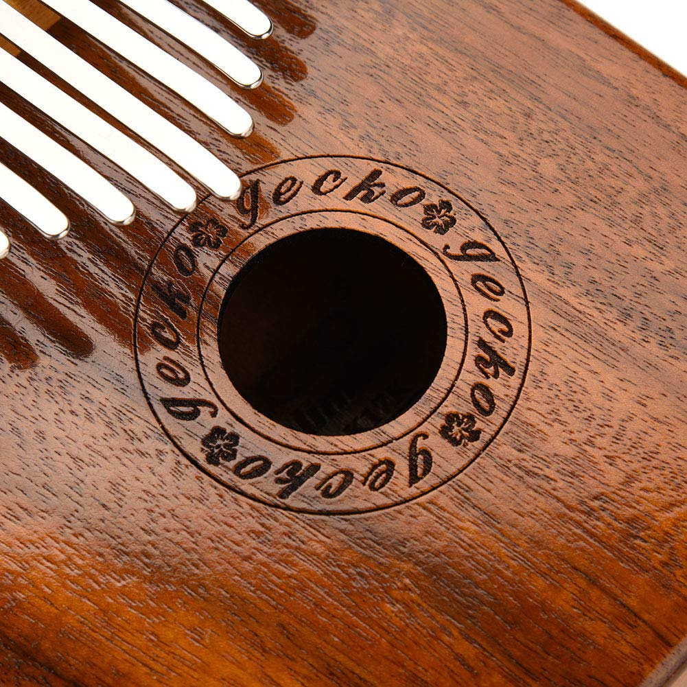 Kalimba 17 keys with Instruction and Tune Hammer, Portable 17 Key Wood Kalimba Thumb Piano Mbira Traditional Musical Instrument, Kalimba Thumb Piano Solid Finger Piano by Yosoo (Image #3)