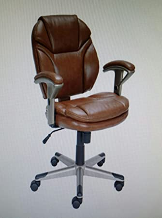 amazon com officemax odessa ii task chair office chair brown