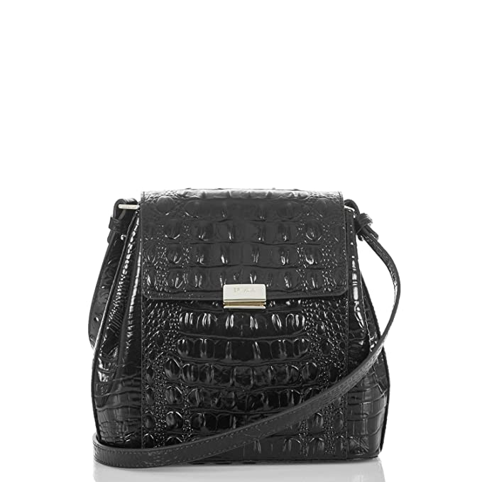 Amazon.com: Brahmin Margo, negro, talla única : Clothing