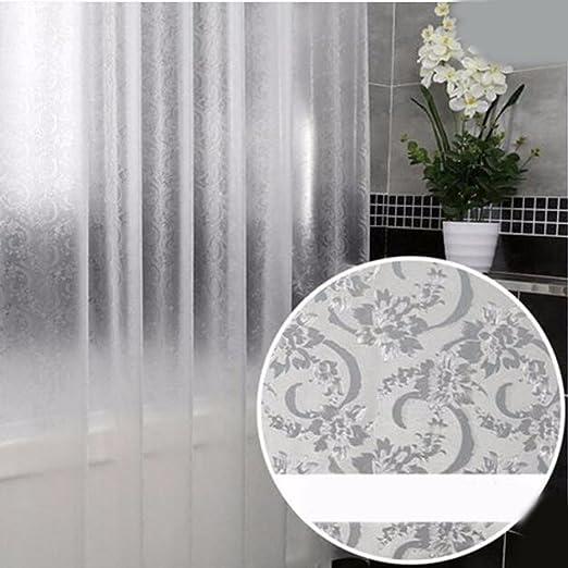 QPGGP-Cortina para ducha Mampara Baño Cortina Cortina Impermeable Engrosamiento Moho - Prueba De Cuarto De Baño