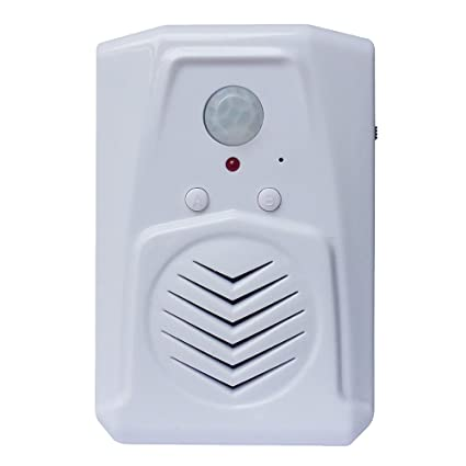 PIR Motion Sensor, Pro Edition with Multi-Track feature, download your own  MP3 files, Play speech, music or sound effects