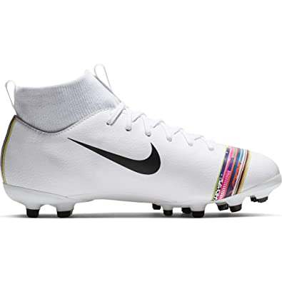 ed9f99b4d Nike Youth Soccer Superfly 6 Academy LVL UP Multi Ground Cleats (1 Little  Kid M