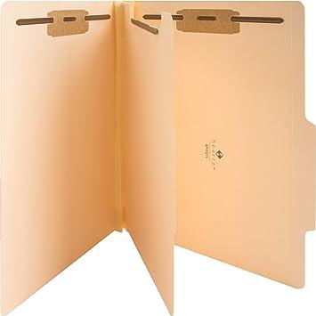 Sparco - Classification Folder, 1 Divider, Letter, 10/BX ...