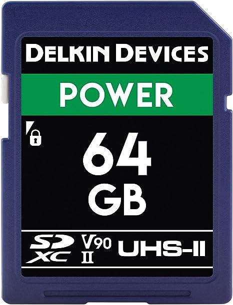 Amazon.com: Delkin Devices 64 GB SDXC de alimentación 2000 x ...