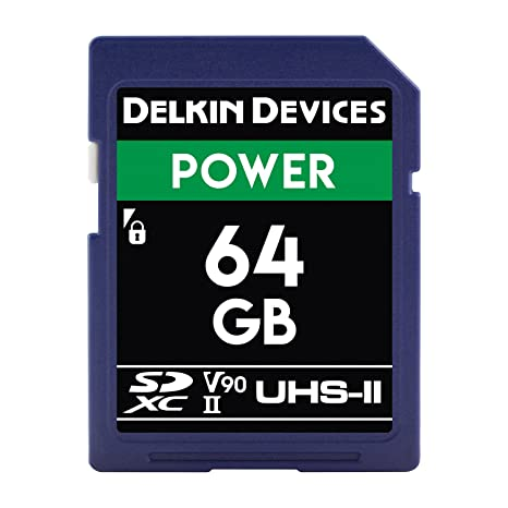 Dispositivos Delkin 64 GB de Tarjeta de Memoria SDXC 2000 x ...