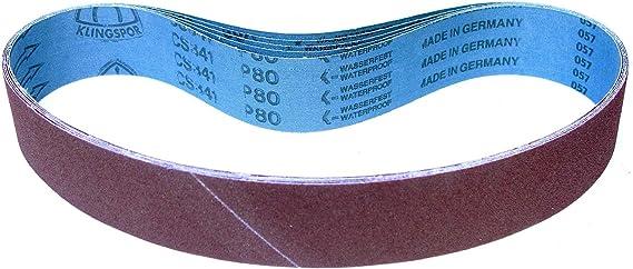 20 x Klingspor Schleifband CS 308 Y75 x 533 mmKorn 240
