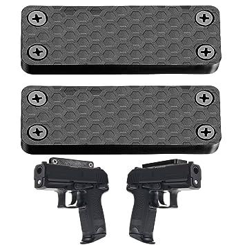 Amazon ILC Gun Magnet 40 Lbs Rating Magnetic Gun Mount Holster Custom Gun Safe Magnetic Magazine Holder