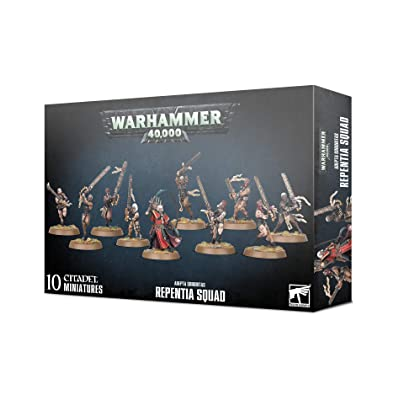 Games Workshop Warhammer 40,000: Adepta Sororitas Repentia Squad: Toys & Games