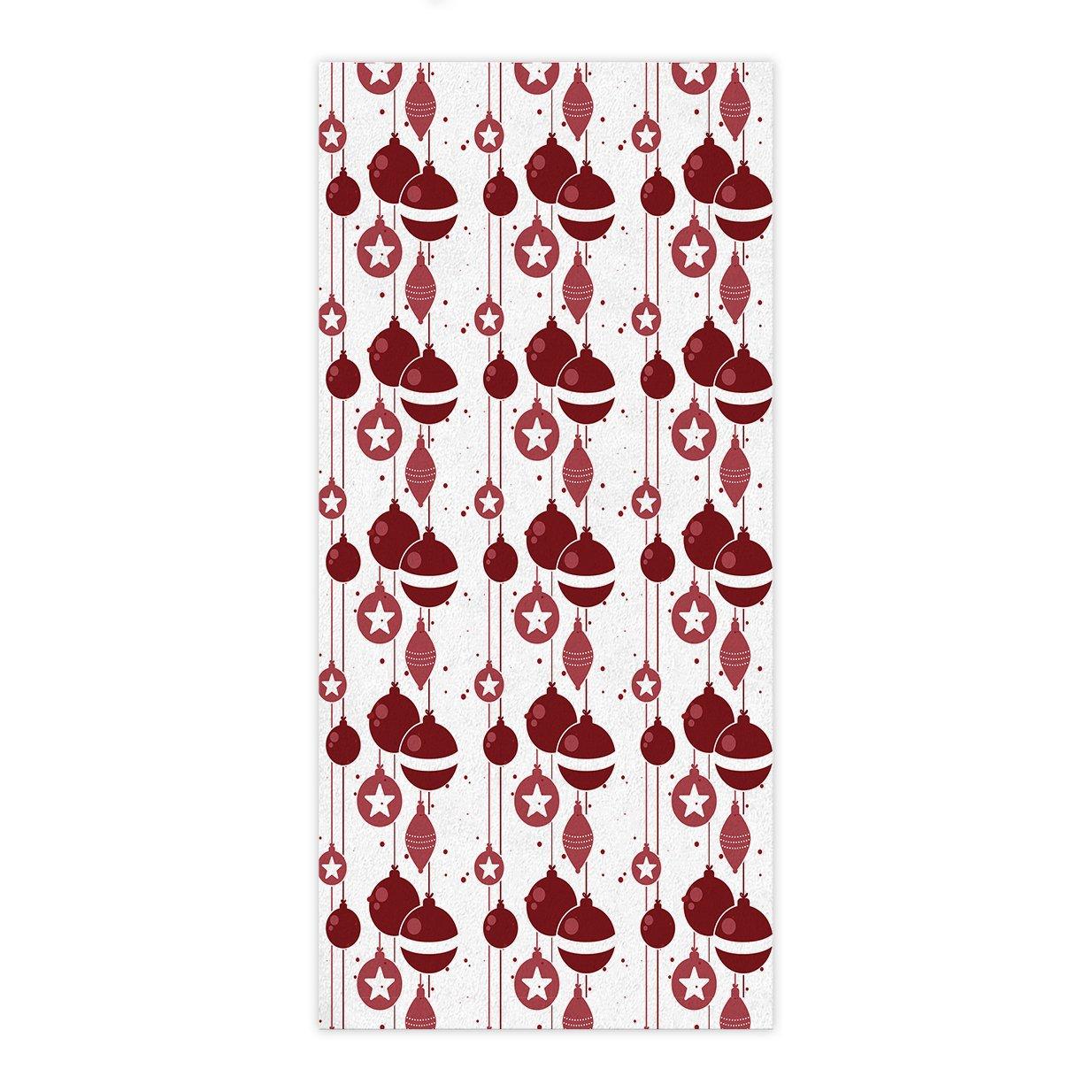 ezon-ch moderno Navidad bola roja Star toalla de mano baño toallas de ducha de Wrap Playa Cuerpo para Hotel playa gimnasio spa Home: Amazon.es: Hogar