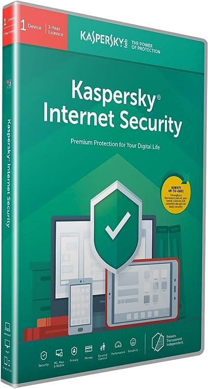 Kaspersky Internet Security 2020 | 1 Device | 1 Year ...
