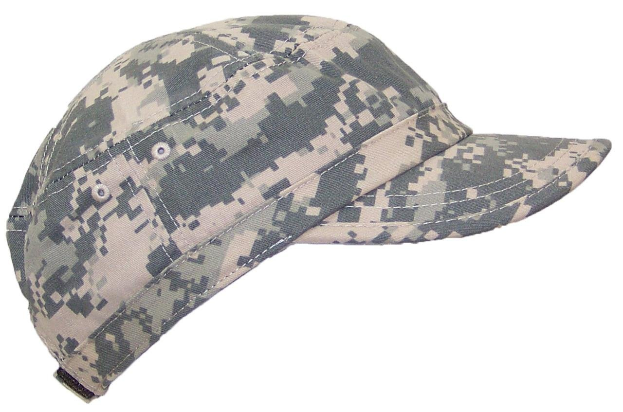 Mega Cap MG Women's Twill Enzyme Washed Adjustable Ballcap W/Pre-Curved Bill (One Size) - Digital Camo