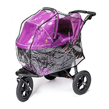 Out N About Cubierta de lluvia para carrito y Canasta para bebés individual XL: Amazon.es: Bebé
