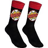 The Big Bang Theory Official Gift 1 Pair Mens Dress Socks Bazinga!
