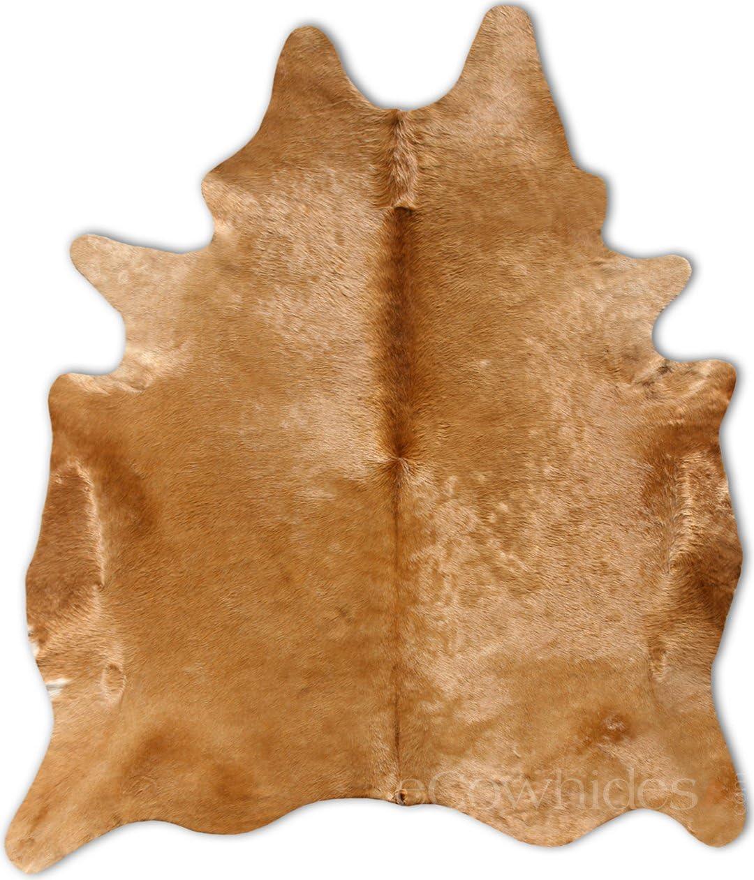 Brown Cowhide Rug Cow Hide Skin Leather Area Rug Large
