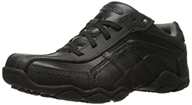 skechers for men black