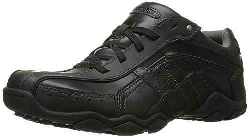 Skechers Larson-Nerick, Zapatillas para Hombre, Negro (BLK), 41 EU