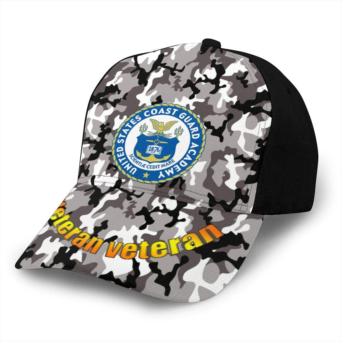 United States Coast Guard Classic Adult Caps Printing Bend Along Baseball Hats Snapback Men Women Caps Adjustable