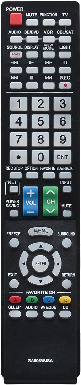 Control remoto  GA806WJSA  para Sharp  Aquos LC-40LE700/UN