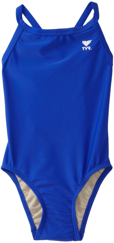 TYR Sport Girls' Solid Diamondback Swim Suit 28) TYR Apparel DSOL1Y