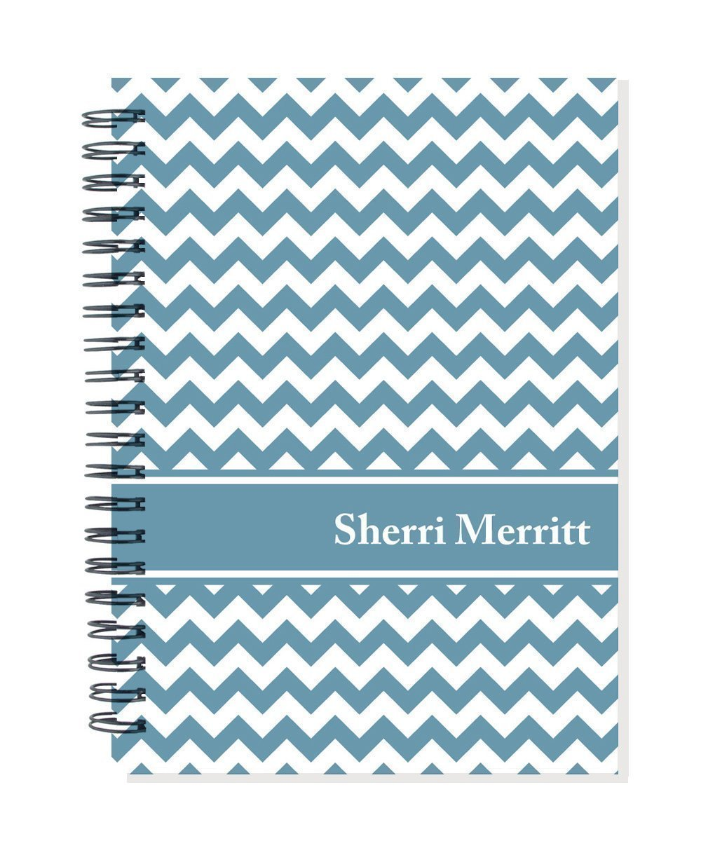 2018-2019 24 month personalized monthly planner calendar notebook, start any month, choose color