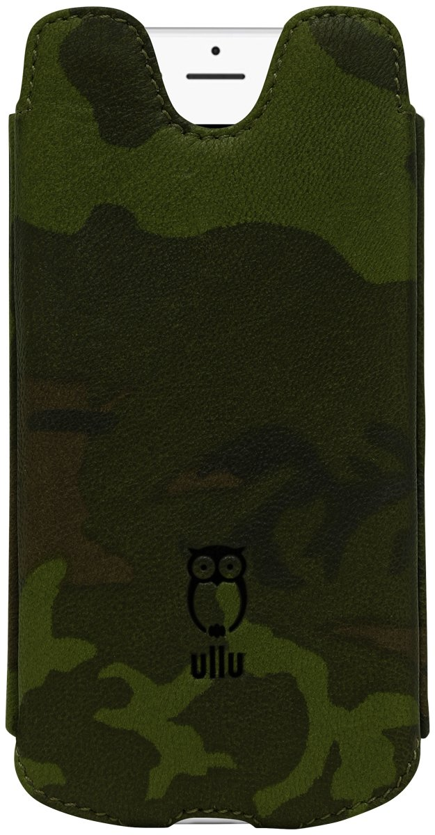 ullu Sleeve for iPhone 8 Plus/ 7 Plus - Army Woodland Green UDUO7PPL77