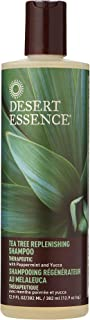 product image for Desert Essence Tea Tree Replenishing Shampoo and Conditioner Bundle - 12.7 Fl Ounce - Therapeutic - Peppermint & Yucca - All Skin Types - Tea Tree Oil - Antibacterial - Restore & Nurture Hair