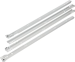 "product image for BLUM 230M5500 Standard Drawer Runners for 22"" Drawer, White"