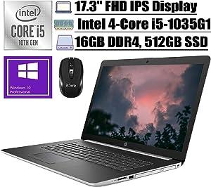 2020 Premium HP 17 Laptop Computer 17.3