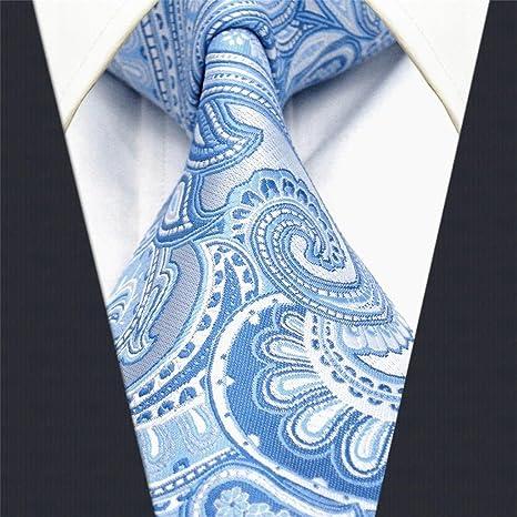 Shlax Wing Hombre La Moda Seda Corbatas Para Azul Cachemir Floral Extra  largo  Amazon.es  Ropa y accesorios 6fb0f4ac51f