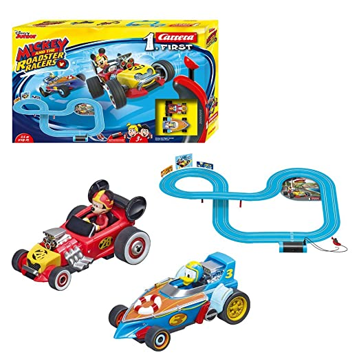 Mickey Mouse - Mickey and The Roadster Racers (Carrera 20063013): Amazon.es: Juguetes y juegos