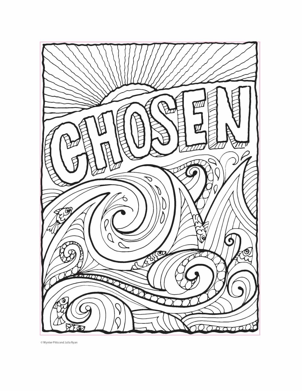 project for awesome god made me coloring page free | Bible ... | 1294x1000