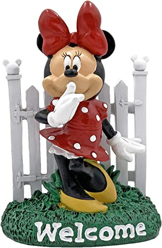 The Galway Company Disney Minnie Mouse Welcome Garden Statue