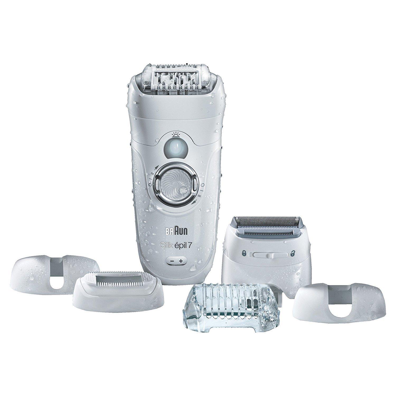 Braun Silk-épil 7 7-561 - Depiladora eléctrica y máquina de depilar,