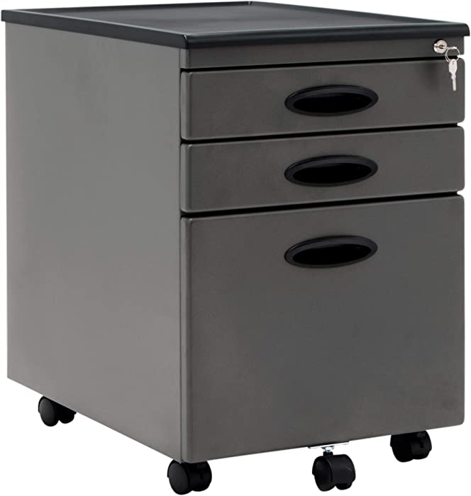 Calico Designs 51101BOXFile Cabinet in Pewter