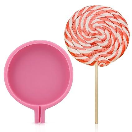 Amazon Com Beasea Diy Lollipop Molds Silicone Soap Candy Chocolate