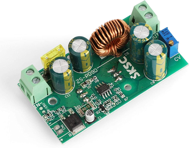 DROK 200W DC 8-40V Step Up to 9-60V 12A Adjustable Voltage Regulator Boost Board 12V 24V 36V 48V Input Power Supply Module Volt Transformer Booster with Aluminum Shell Boost Voltage Converter