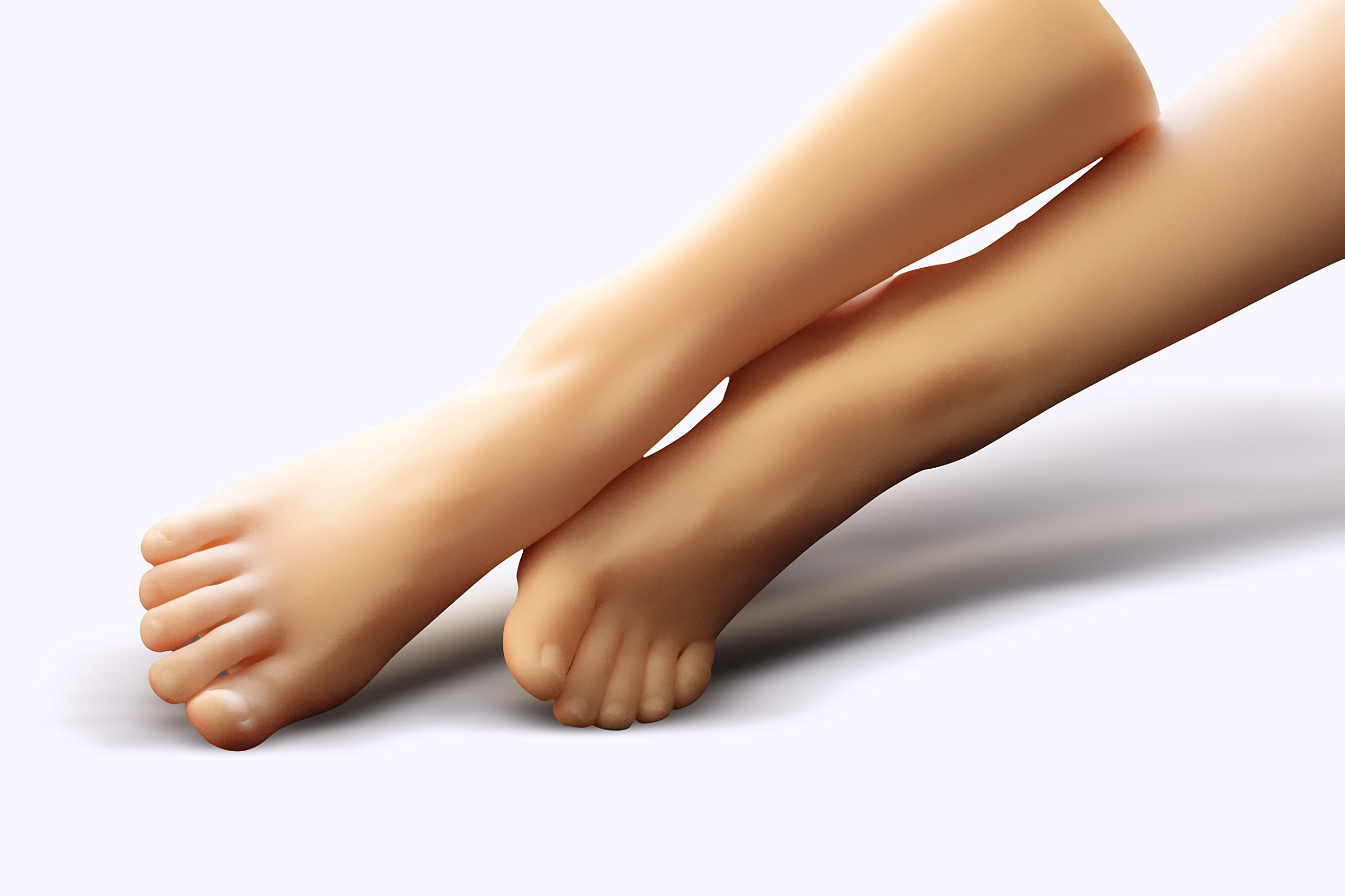 Foot model Real Scale Super Realistic Foot Mask Photography Store Product Exhibition Teaching Appliance Design Exercise Model Manicure Exercise etc. Widely Used