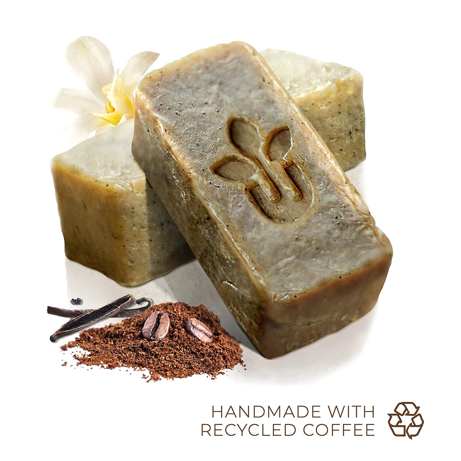 urbanized beauty natural coffee firming exfoliating soap scrub gift set