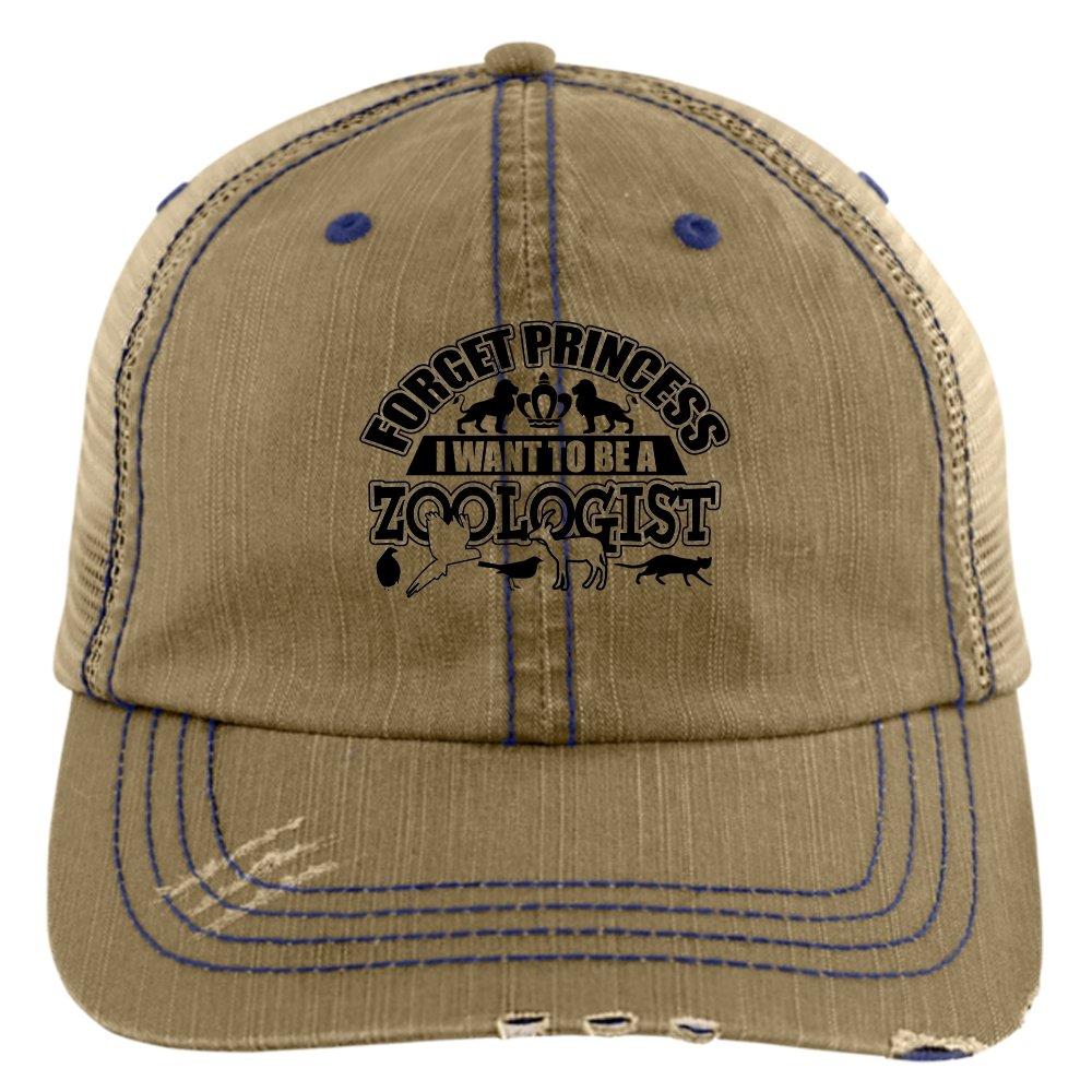 Forget Princess Hat, I Want To Be A Zoologist Trucker Cap (Trucker Cap - Khaki)