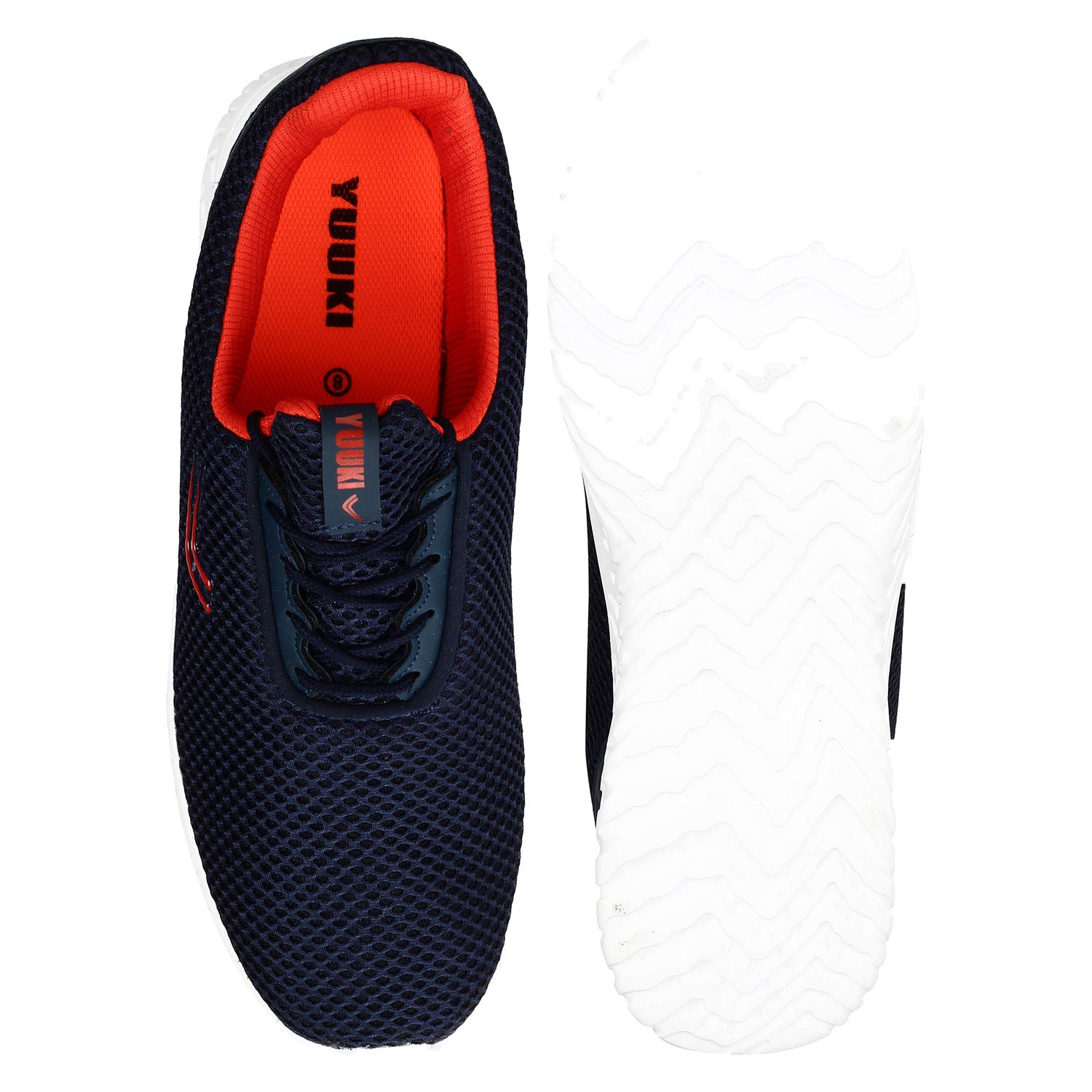 Yuuki Gale Navy Lace Up Running Shoes: Buy Online at Low