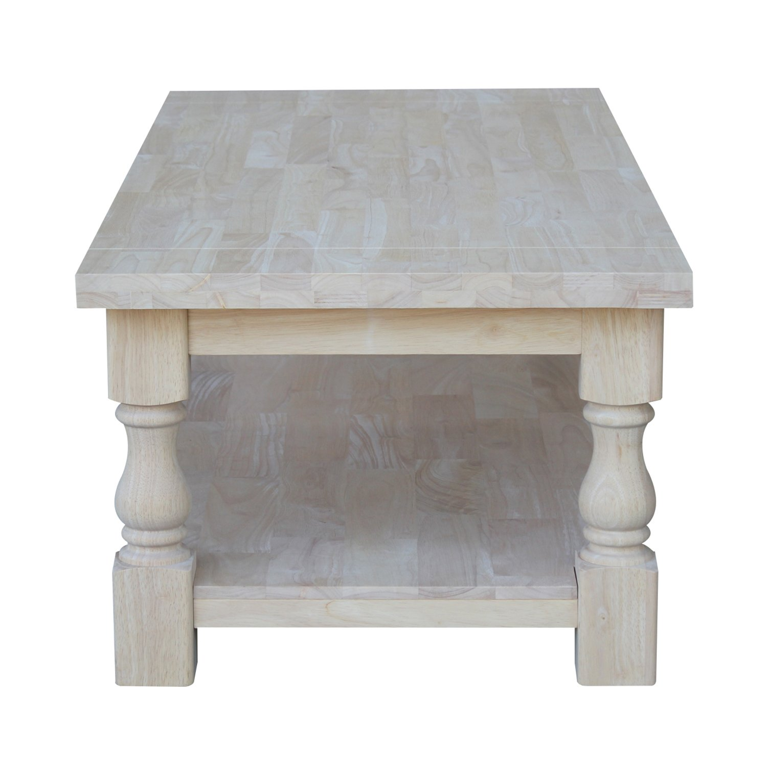 amazon com international concepts tuscan coffee table 51 by 23
